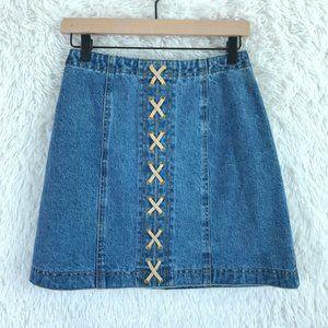 Vintage Denim Skirt St Maarten Dallas